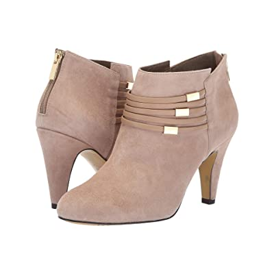 Bella-Vita Nerissa (Almond Kid Suede Leather/Almond) High Heels