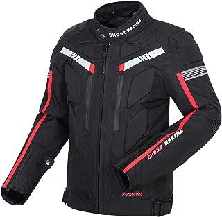 Homyl Jaqueta de Motocicleta para Homens Motocross Racing Biker Equitação Equipamento Impermeável para Todos os Climas, 4G...