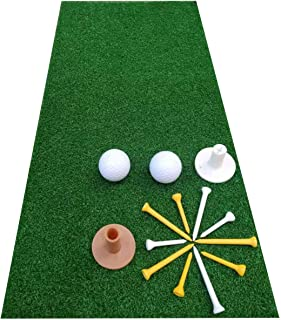 Sponsored Ad - FRANKTECH Golf Mat 3D Commercial Golf Practice Mat for Hitting Driving Premium Turf Backyard Home Use Indoo...