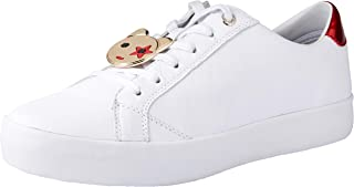 TOMMY HILFIGER Women's Mascot Essential Sneakers 100% Leather