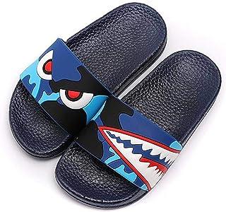 New Cartoon Dinosaur Kids Slippers Unicorn Baby Boy Girl Summer Beach Water Shoes Indoor Home Flip Flops Children Outdoor ...
