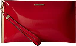 Wristlet Clutch with Bar Detailing
