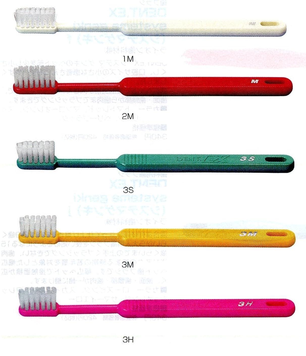 部族必要支出ライオン DENT .EX 3 レギュラー 歯ブラシ 1本 M イエロー