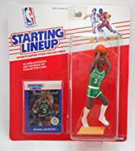 1988 Dennis Johnson Starting Lineup NBA Basketball Action Figure Celtics Card
