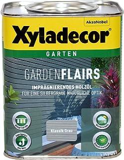 Xyladecor Garden Flairs 0,75L klassik grau Holzöl Imprägnierung Metalleffektöl