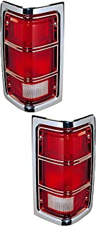 For 1981-1987 Dodge D150 Tail Light Assembly Right Passenger Side 58986YX 1984
