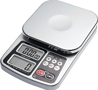 dretec(ドリテック) ドリップ スケール はかり キッチン クッキング 料理 コーヒー デジタル タイマー付き 2kg KS-210SV
