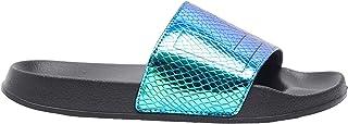 Shoexpress Reptile Texture Beach Slide Slippers
