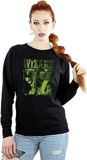Wizard of Oz Women's Wicked Witch Logo Sweatshirt