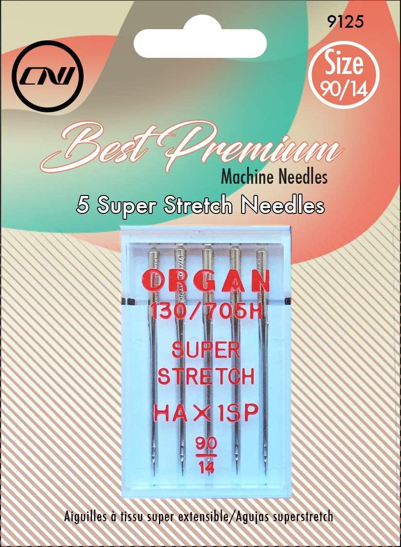 Clover Best Premium Popular popular Machine Needles Piece Super Stretch 5 Credence