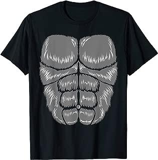Halloween Gorilla Costume Youth Apparel, Adult Kids T-Shirt