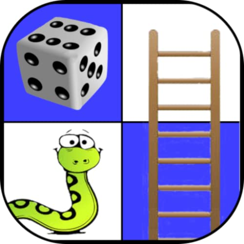 Snakes and ladders - Classic Board Game for 2 to 4 players
