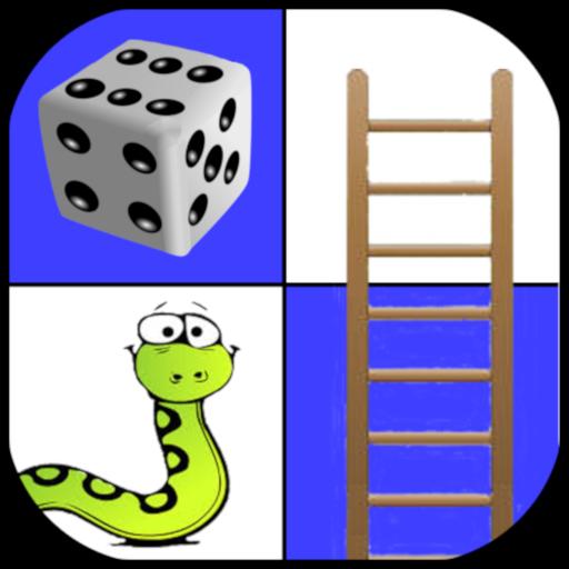 Leiterspiel - Schlangen und Leitern - Brettspiel - 2 bis 4 Spieler...