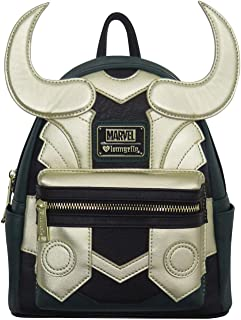 Avengers Loki Faux Leather Mini Backpack Standard