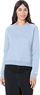 Calvin Klein Jeans Women's Boxy Crew Neck Sweater, Skyway, L