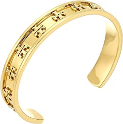 Tory Burch - Raised Logo Cuff Bracelet