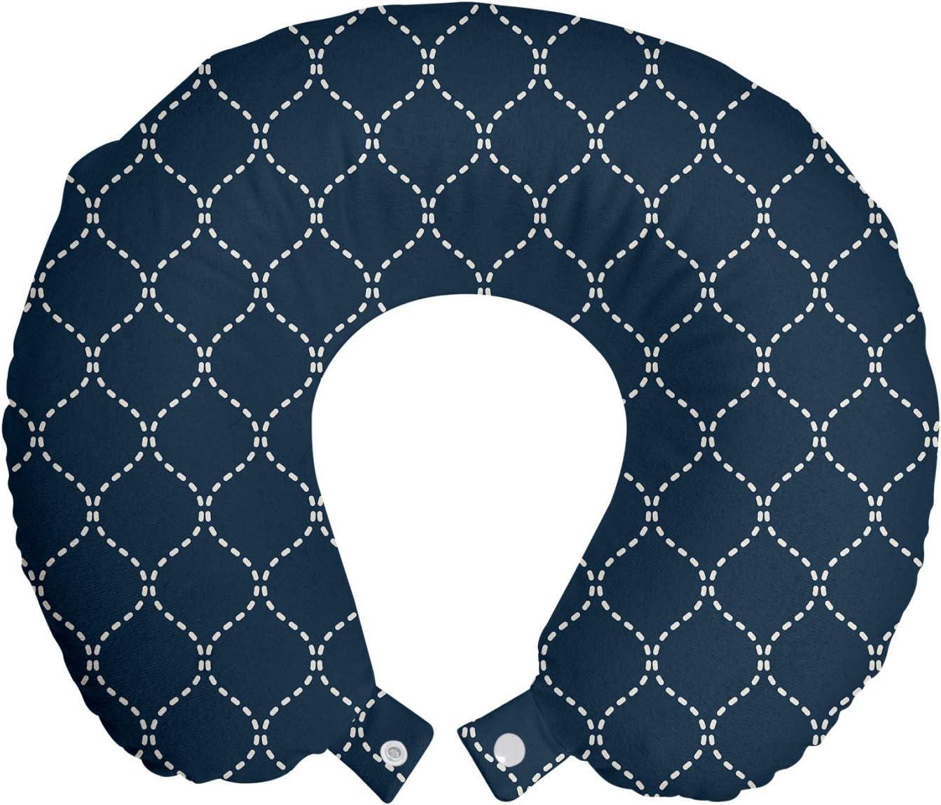 Ambesonne Geometric Travel Regular dealer Pillow Neck wit Rest Pattern Lattice 25% OFF