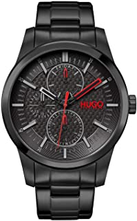 HUGO Men's Analogue Quartz Watch with Stainless Steel Strap 1530156