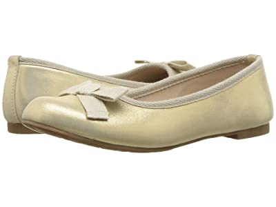 Elephantito Elephantito Flat (Toddler/Little Kid) (Suede Gold) Girl