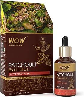 WOW Skin Science Patchouli Essential Oil, 15 ml