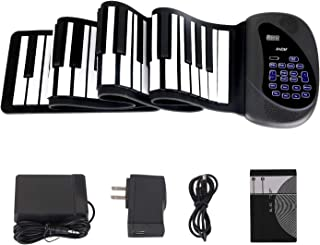 Portable Flexible Electronic 88-Key piano | Double Loudspe