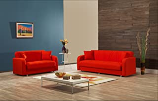 Amazon.com: Orange - Living Room Sets / Living Room ...