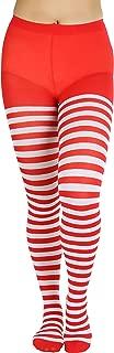 ToBeInStyle Women's Nylon Horizontal Striped Tights