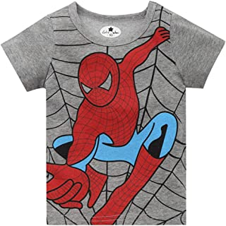 Hasbro T-Shirt Spiderman Boy Le Et/à di 18/Mesi/ /8/Anni Disponibile