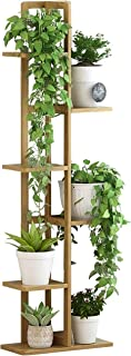 Plant Stand Flower Pots Shelf Flower Stand Flower Rack Bamboo Multi-layer Upright Floor-standing Plant Stand Indoor Storag...
