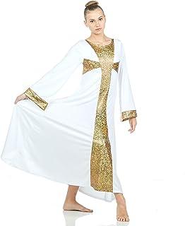 Danzcue Praise Cross Long Sleeve Dress