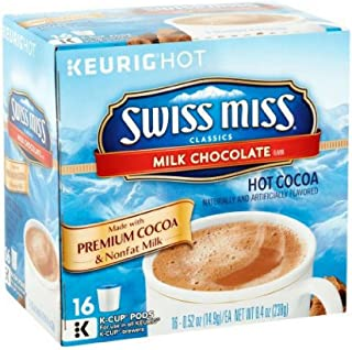 Swiss Miss Milk Chocolate Hot Cocoa Coffee Pods, 16 pods