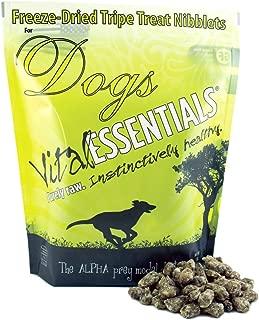 Vital Essentials Freeze-Dried Beef Tripe Nibblets Grain Free Limited Ingredient Dog Treats, 1 Pound Bag