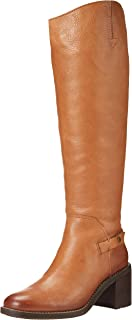 Franco Sarto Women's Kiana Knee High Boot, Light Brown, 6