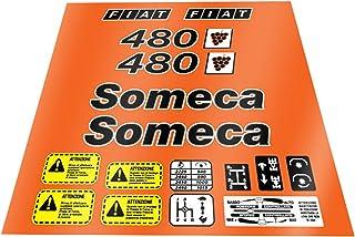 BLUE HAWAI A681 Patch ECUSSON Fiat SOMECA 10 3,5 CM