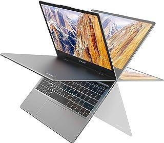 TECLAST F5 ノートパソコン 11.6インチ タッチスクリーン 360°自由回転でき ノート PC、8GB+256GB SSD、4コアCeleron N4100 Win 10、1920*1080 IPS ディスプレイ、Type-C+Mi...