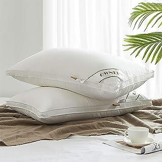 CCAN Oreillers de Couchage en Duvet, oreillers Souples de qualité hôtelière de Taille Standard, oreillers pour Dormir, lit...