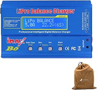 Balancing Battery Charger, FOME SKYRC IMAX B6 Professional Lipro Balance Charger/Discharger Aluminum Alloy Shell for Multi-axis Aircraft/Car Model/Model Airplane LiPo/Lilon/LiFe/NiCd/NiMH/Pb Batteries