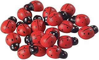Fun Express Self-Adhesive Ladybugs - 50 Pieces