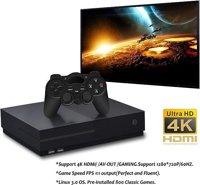 Spiele Spielzeug ZChun DATENFROSCH 4K HDMI-Videospielkonsole ...