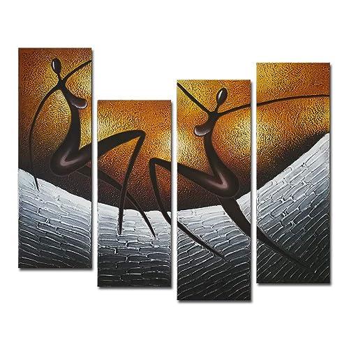African Art Paintings Amazon Com