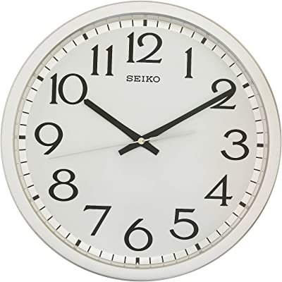 Seiko Wall Clock(QXA711SN,Silver,31.1 CMX31.1 CMX4.4 cm