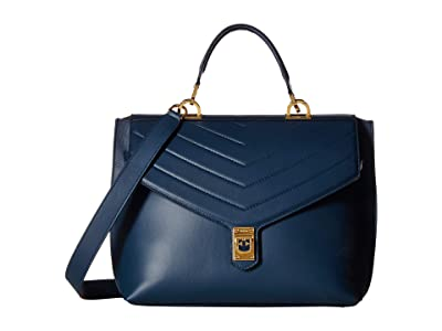Furla Tortona Small Top-Handle (Atlantico) Handbags