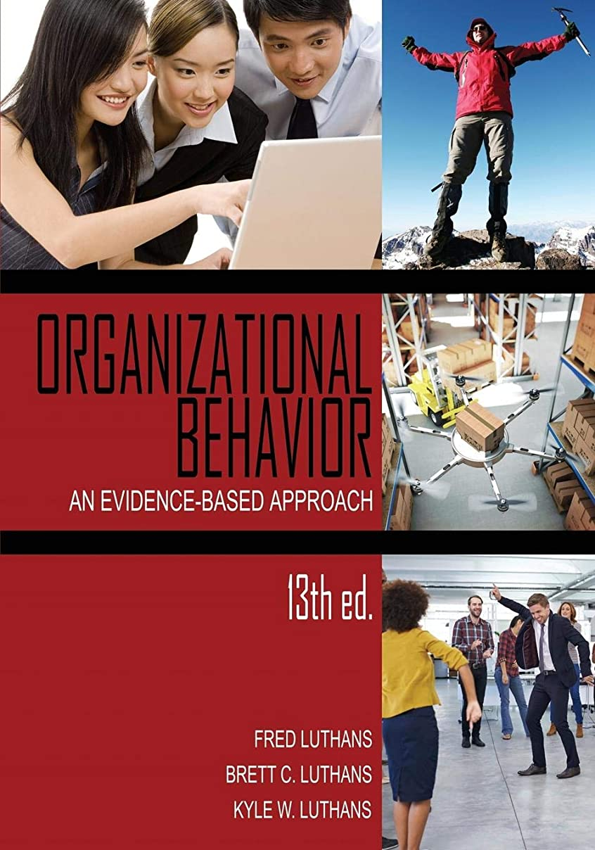 預言者発火する絵Organizational Behavior: An Evidence-based Approach