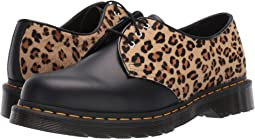 Black/Medium Leopard Smooth/Hair On