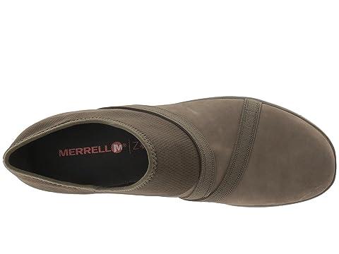 Merrell Olive Q2 AluminumBlackDusty Sojourn Leather Zoe wf70xw