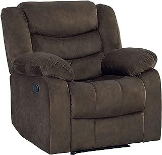 Standard Furniture 4170021 Ridgecrest Manual Motion Recliner, Dark Brown