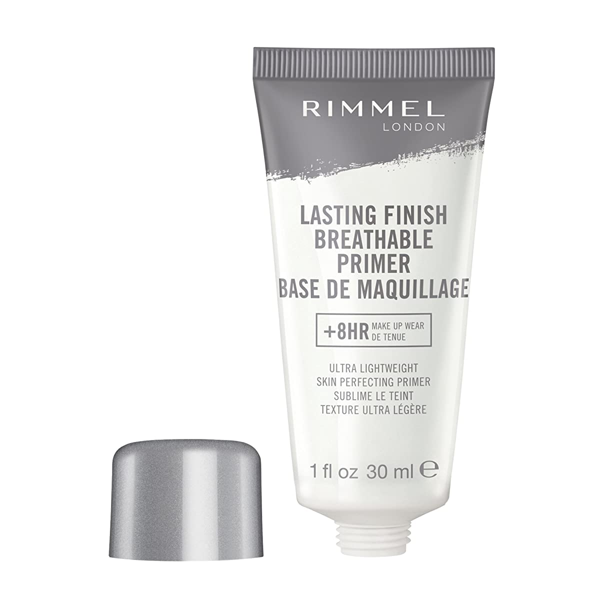 モンクアーカイブグレーRIMMEL LONDON Lasting Finish Breathable Primer - Transparent (並行輸入品)