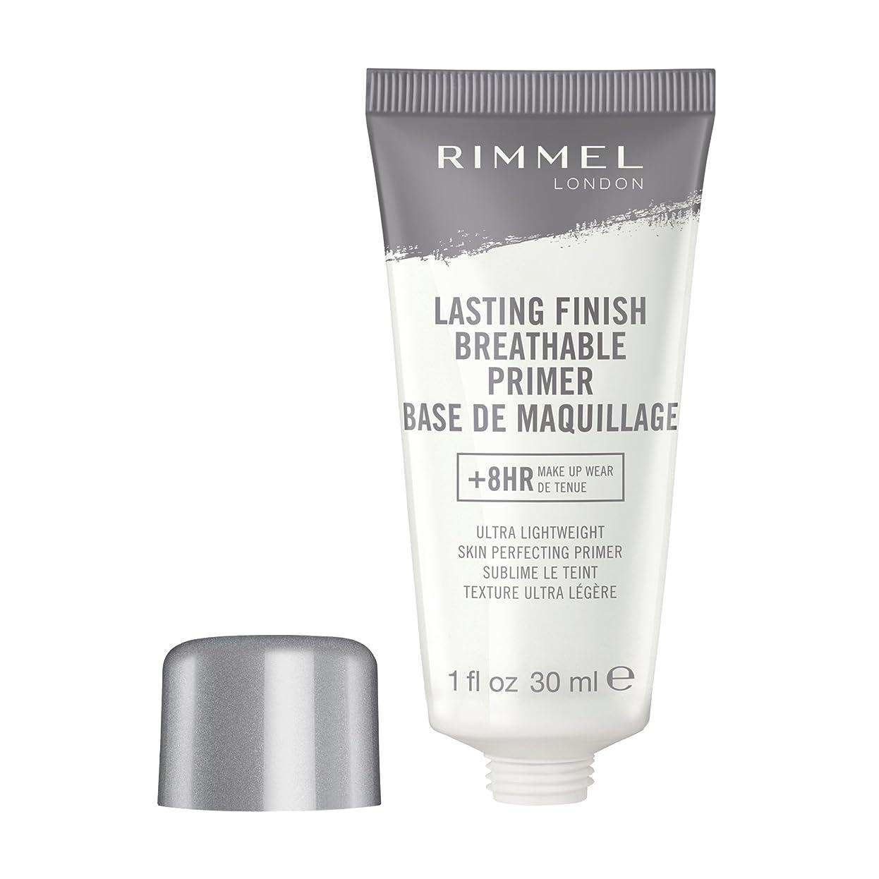 学士剪断負荷RIMMEL LONDON Lasting Finish Breathable Primer - Transparent (並行輸入品)