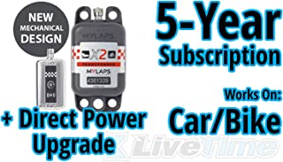 MyLaps X2 Transponder, Direct Power, for Car/Bike, includes 5-Year Subscription