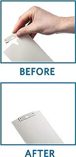36 Pack Vertical Blind Vane Saver ~ White Curved Repair Clips ~ Fixes Broken